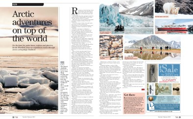 Mag spread travel ice