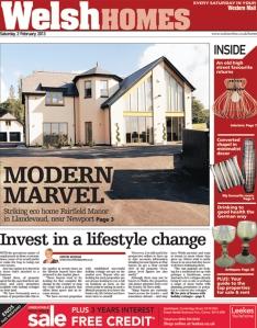 MAIL HOMES FRONT ©Media Wales/Trinity Mirror