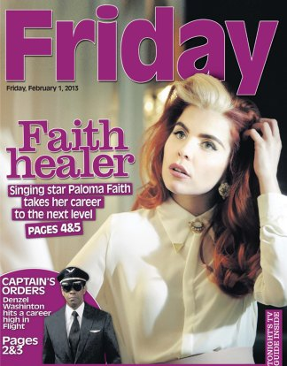 FRIDAY FRONT
