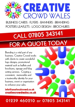 Creative Crowd A6 Leaflet new logo